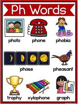 Consonant Digraphs Worksheets - PH DIGRAPHS Worksheets and Activities