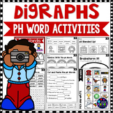 Consonant Digraphs Worksheets - PH DIGRAPHS Worksheets and Activities