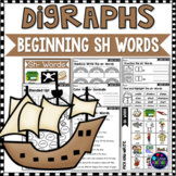 Consonant Digraphs Worksheets - SH DIGRAPHS Worksheets and
