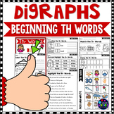 Consonant Digraphs Worksheets - TH DIGRAPHS Worksheets and