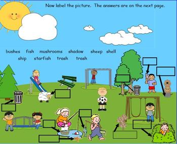 Consonant Digraphs for the SMART Board:  Sh