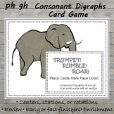 Consonant Digraphs ph gh Card Game