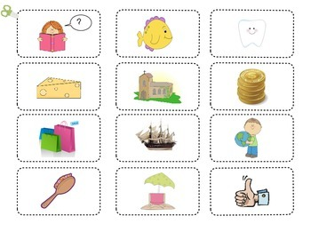 Consonant Digraphs sh ch th Sort & Word Work