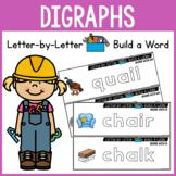 Consonant Digraphs Activities - Beginning and Ending Digraphs WORD BUILDING MATS