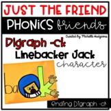 Consonant Ending Digraph ck Craftivity, Phonics Friends Ju