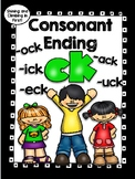 Consonant Ending -ck - ack, eck, ick, ock, and uck - No Prep!
