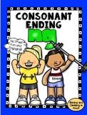Consonant Ending -ng - Word Work! No Prep!