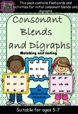 Consonant Initial Blends Flashcards and Activities
