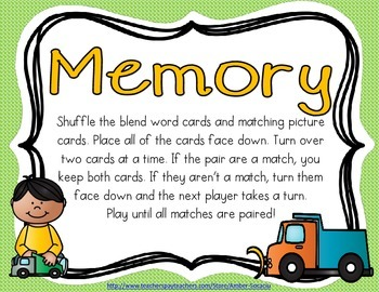 Consonant L Blend Activities and Printables for English Language Learners