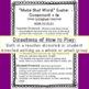 "Consonant + LE: ""Make that Word"" Class & Center Activity - OG Inspired"