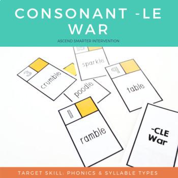 Consonant LE Game