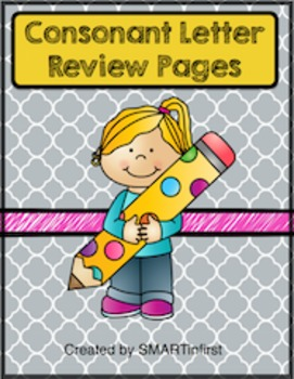 Consonant Letter Review Packet