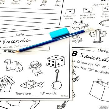 Consonant Letters Practice