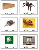 Consonant Missing Middle Sounds Kindergarten real pictues ESL