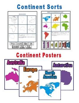 Continents, Oceans, and Map Skills: VA SOL 3.5, USI.2, HS-G 4; C.C. 2.5, 3.5