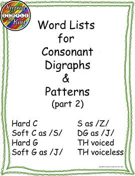 voiced consonant list