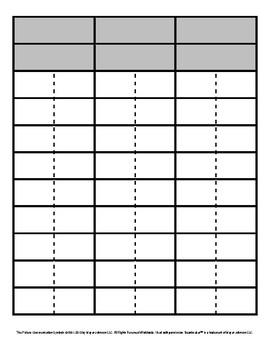 Consonant Phonics Patterns Picture/Word Sorts (V)
