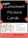 Consonant Picture Cards