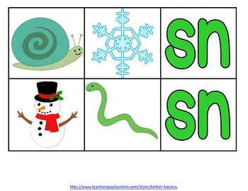 Consonant S Blend Activities and Printables