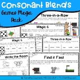 Consonant Blends Games Mega Pack