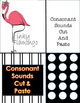 Consonant Sounds Cut and Paste {Print and Go}