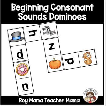 Consonant Sounds Dominoes