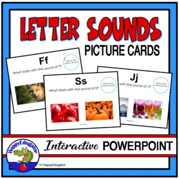 Letter Sounds PowerPoint