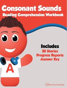 Consonant Sounds Reading Comprehension Bundle