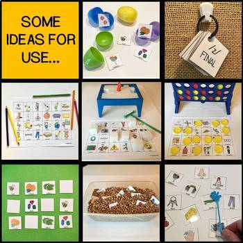 Consonant Speech Squares: Cards for Articulation Activities