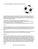 Consonant Variations Soccer Sort Game (hard and soft C and G, -k or -ck ending)