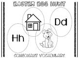 Consonant Vocabulary Easter Egg Hunt
