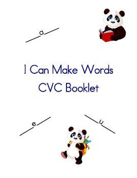 Consonant Vowel Consonant Book