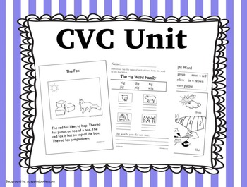 Consonant Vowel Consonant Unit