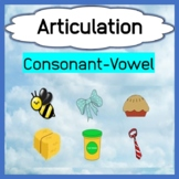 Consonant Vowel Target Words and Pictures for Articulation