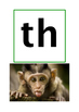 Consonant and Vowel Cluster Sound Reminder Pictures