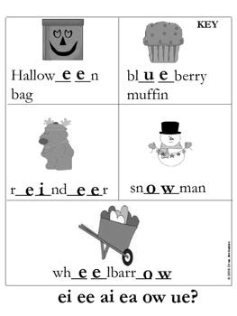 Consonant and Vowel Digraphs-Practice Activities