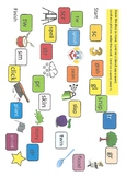 Consonant blends board game