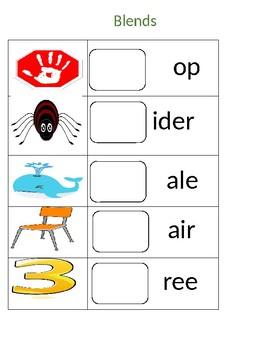 Consonant blends station