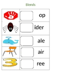 Consonant blends station