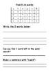 Phonics activity pages: Consonant diagraphs