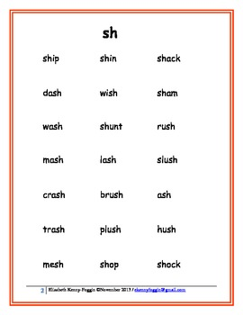 "Consonant digraph ""sh"" - Another Lesson"