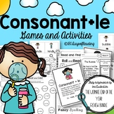 Consonant le Syllable Phonics Games and Activities for Fluency