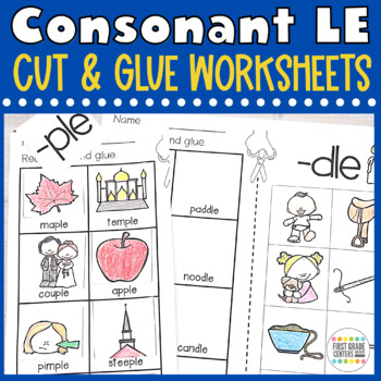 Consonant le Cut and Glue Final Stable Syllables
