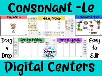 Consonant -le Digital Centers