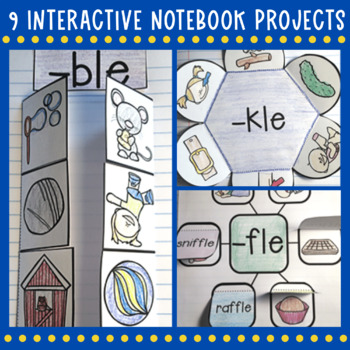 Consonant le Interactive Notebook Projects Final Stable Syllable
