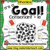 Consonant + le - It's a Goal!