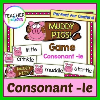 Consonant –le: Muddy Pigs Game