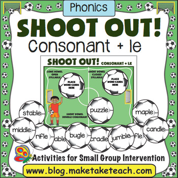 Consonant+le Soccer Shoot Out!