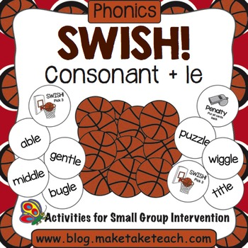 Consonant + le - Swish! A Basketball Game