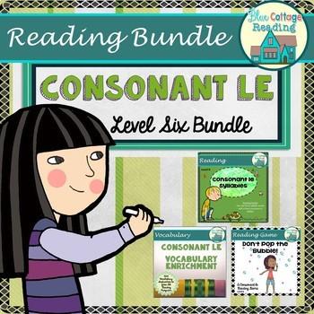 Consonant le Syllable Level Six Bundle